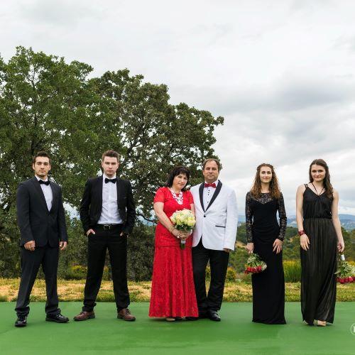 Семья Юрия и Светланы Грама